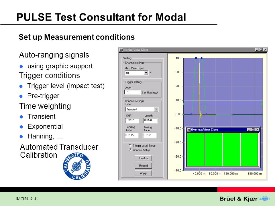 PULSE Test Consultant for Modal
