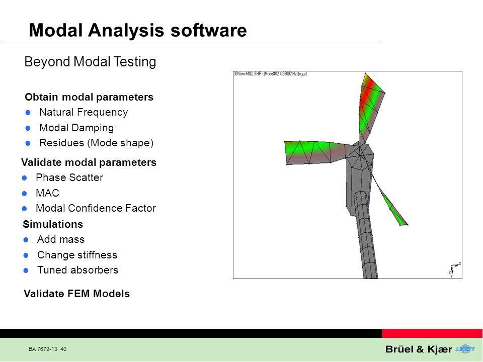 Modal Analysis software