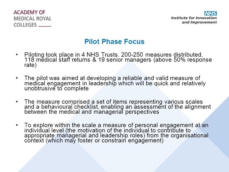 Pilot Phase Focus