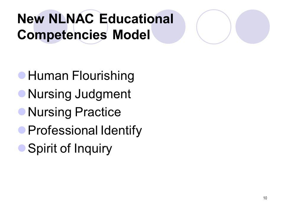 New NLNAC Educational Competencies Model