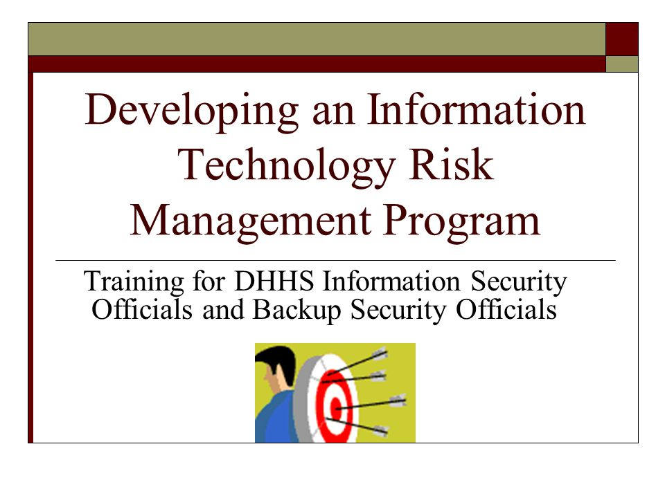 information technology risk management thesis Information security master thesis proposals for further information about topics for master thesis information security management, risk analysis.