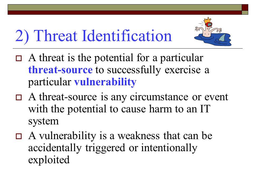 2) Threat Identification