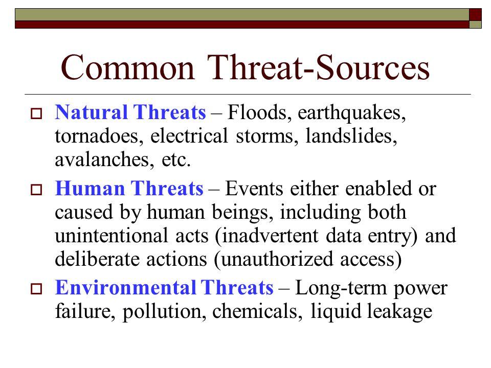 Common Threat-Sources