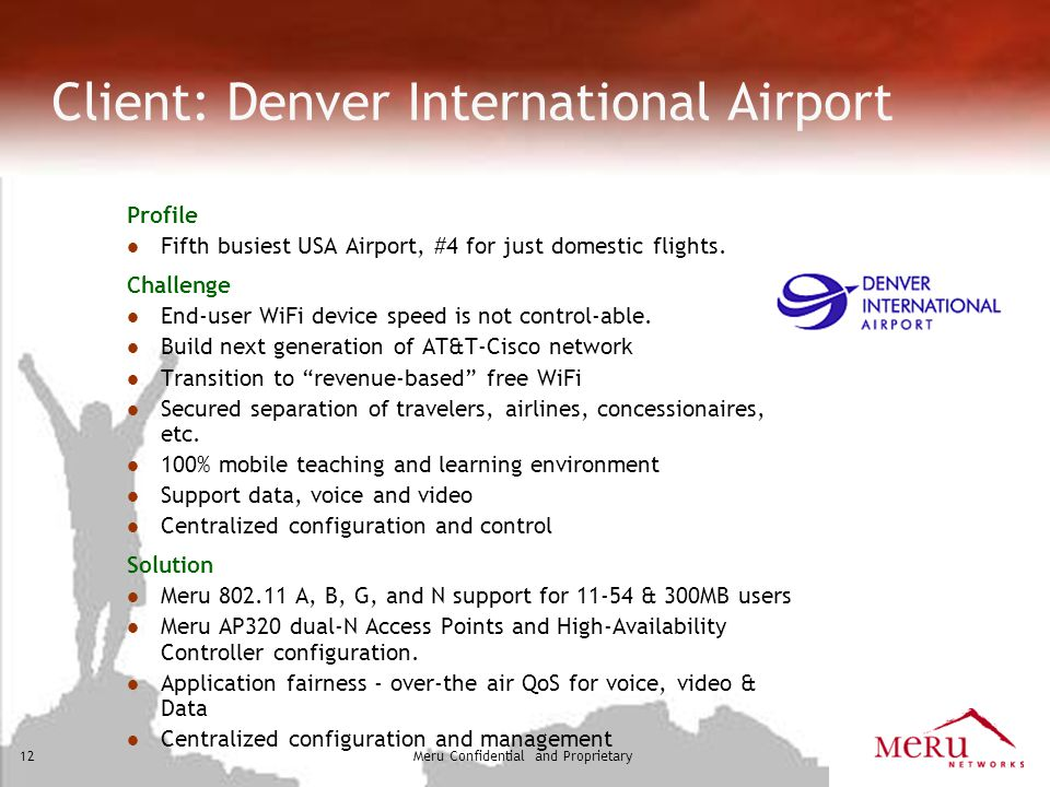 Client: Denver International Airport