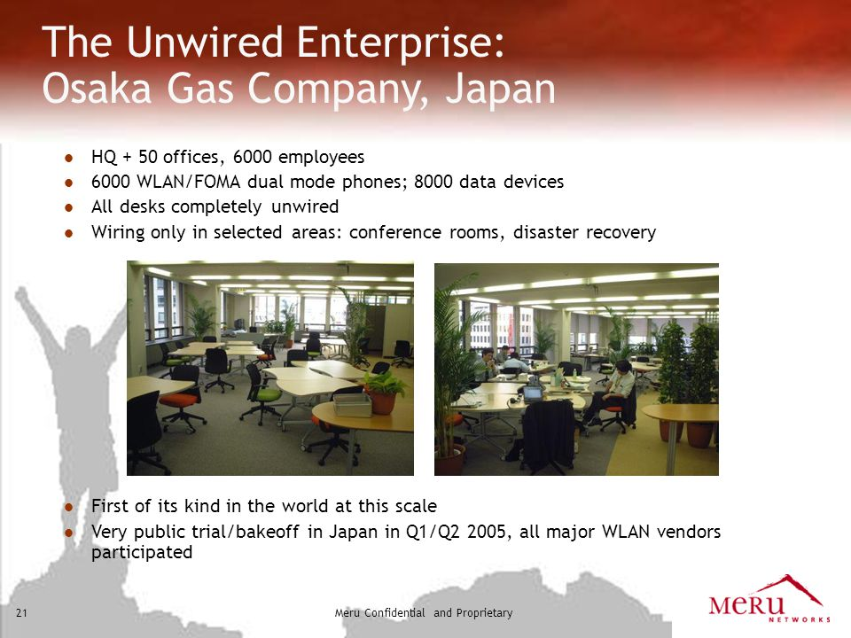 The Unwired Enterprise: Osaka Gas Company, Japan