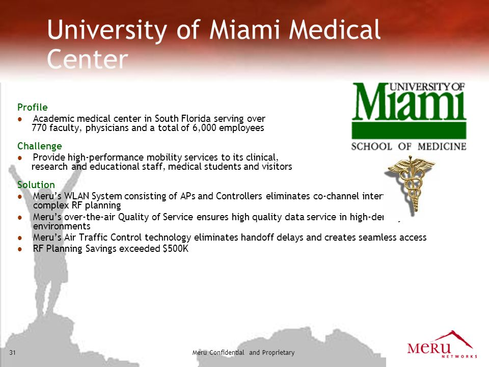 University of Miami Medical Center