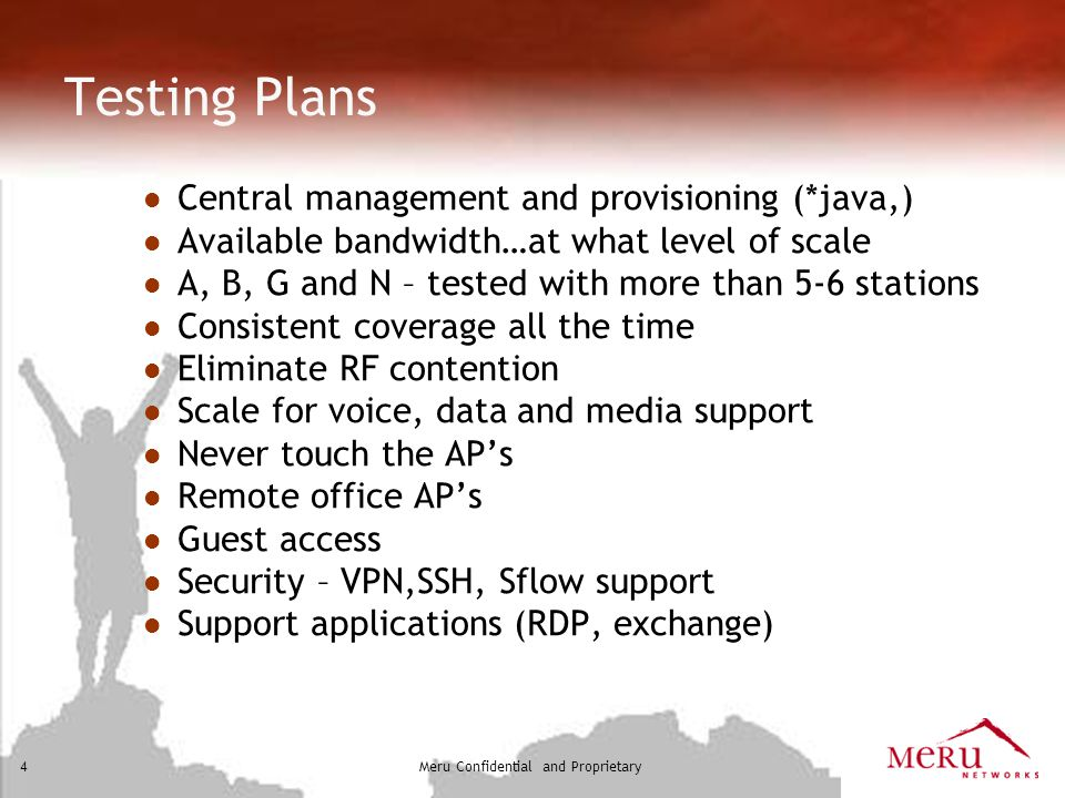 Testing Plans Central management and provisioning (*java,)