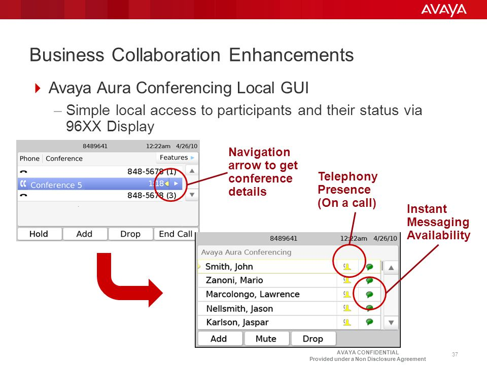 Business Collaboration Enhancements