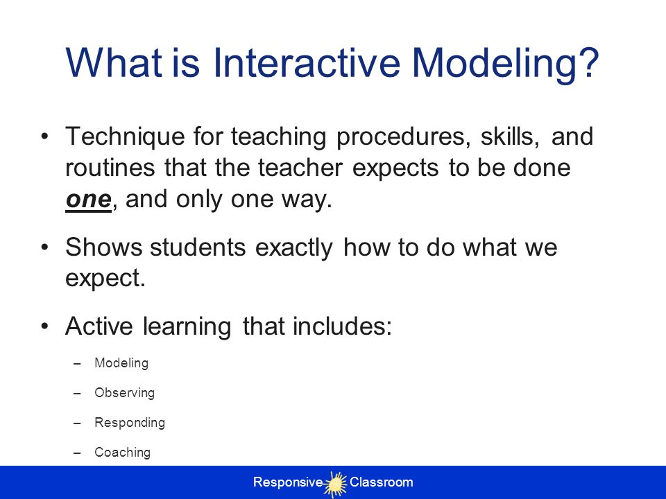 What is Interactive Modeling