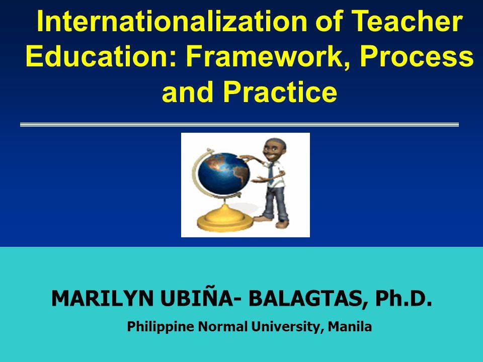 MARILYN UBIÑA- BALAGTAS, Ph.D. Philippine Normal University, Manila