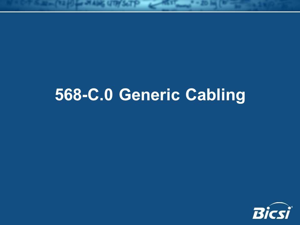 568-C.0 Generic Cabling
