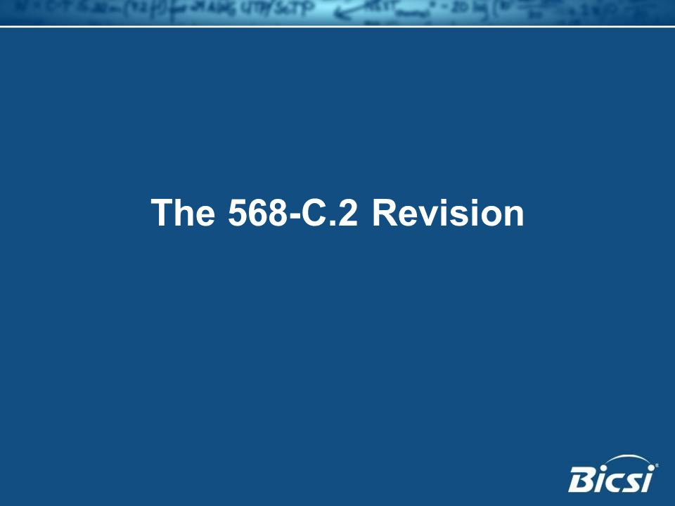 The 568-C.2 Revision