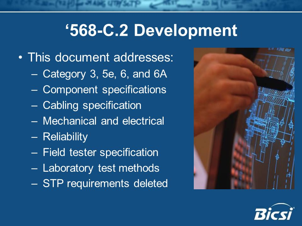 '568-C.2 Development This document addresses:
