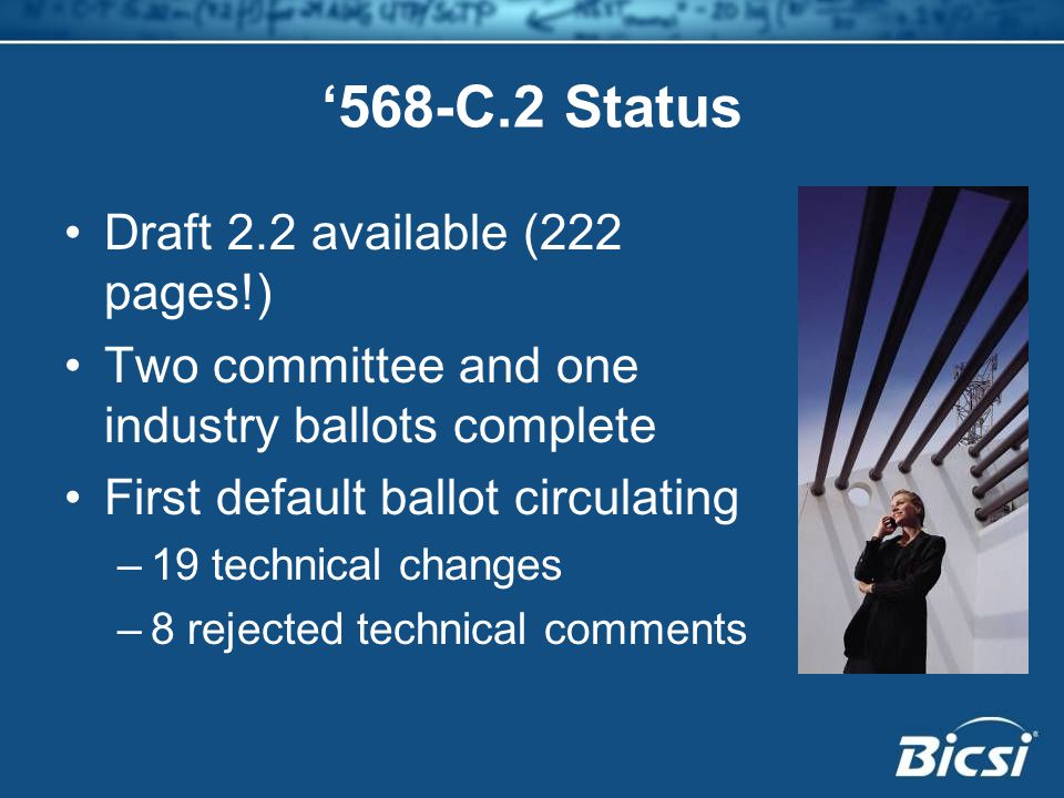 '568-C.2 Status Draft 2.2 available (222 pages!)