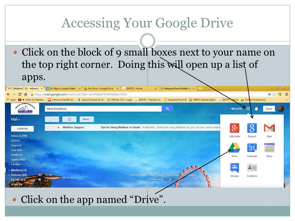 Accessing Your Google Drive