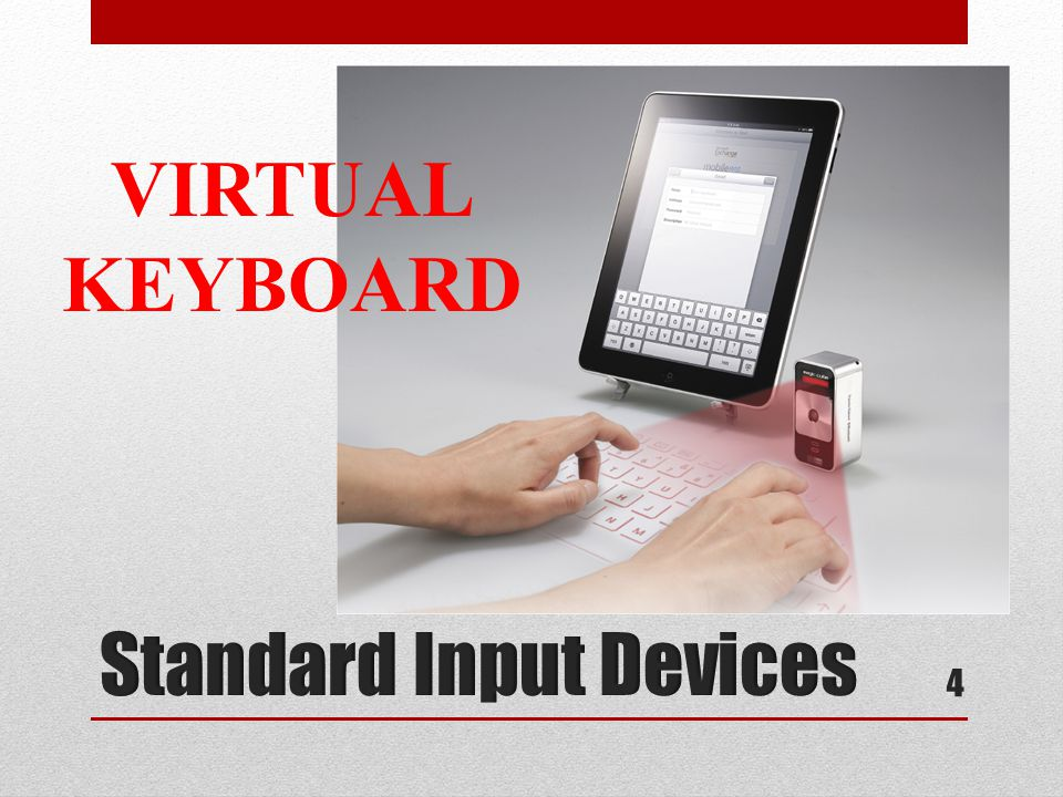 Standard Input Devices