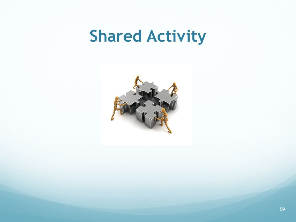 Shared Activity