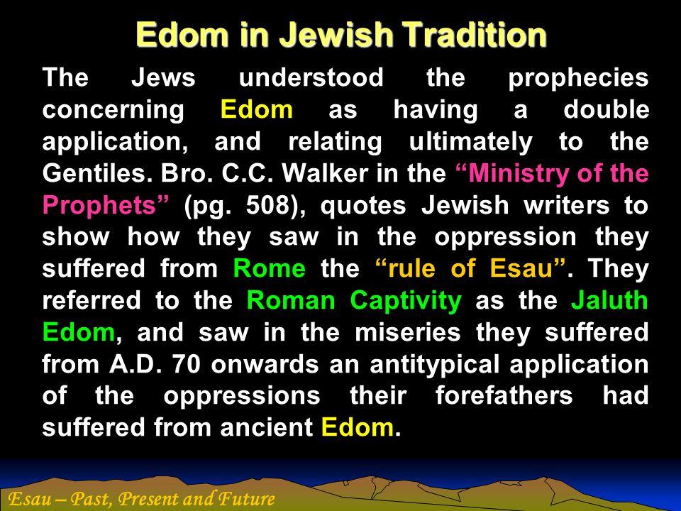 Edom in Jewish Tradition