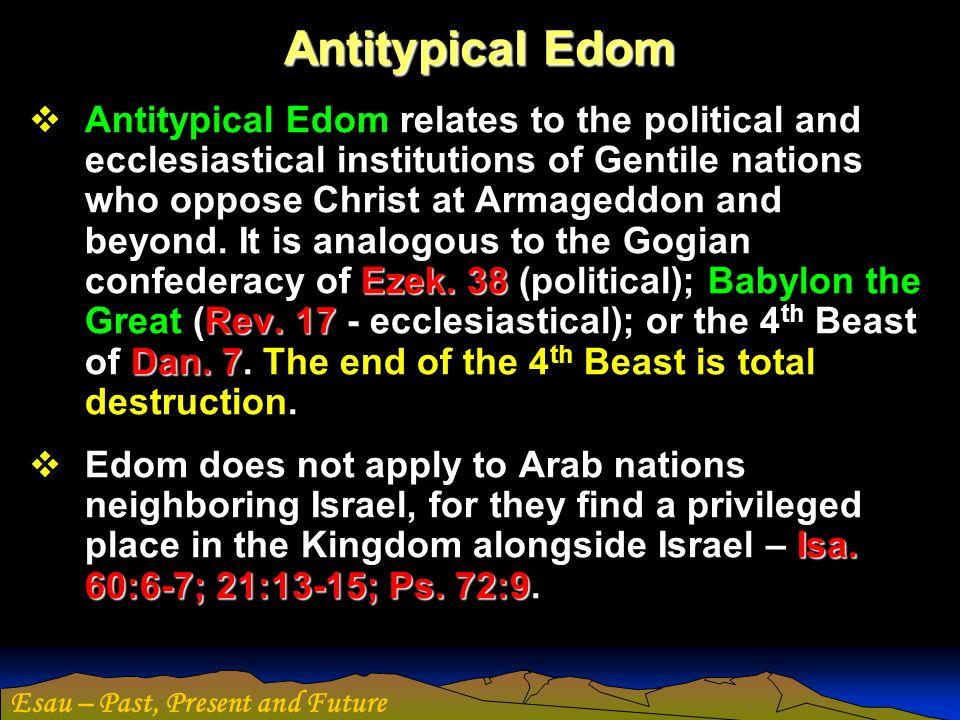 Antitypical Edom