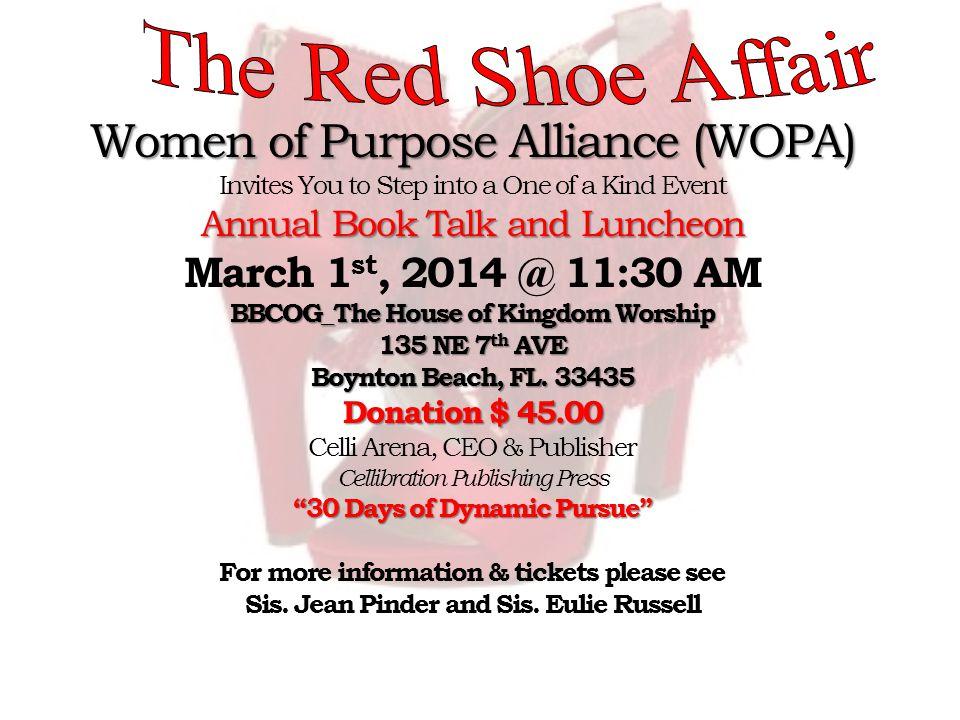 Women of Purpose Alliance (WOPA)