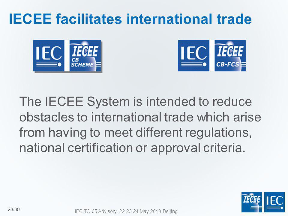 IECEE facilitates international trade