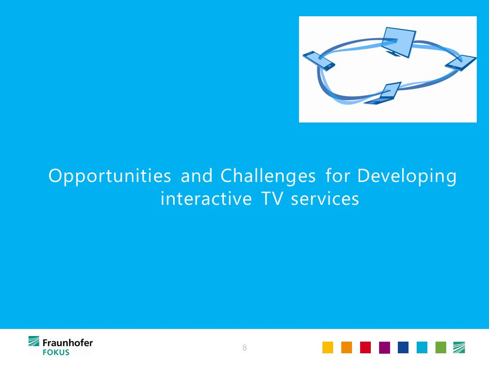 Opportunities and Challenges for Developing interactive TV services