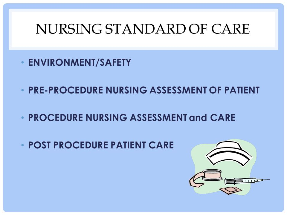 Nursing Standard of Care