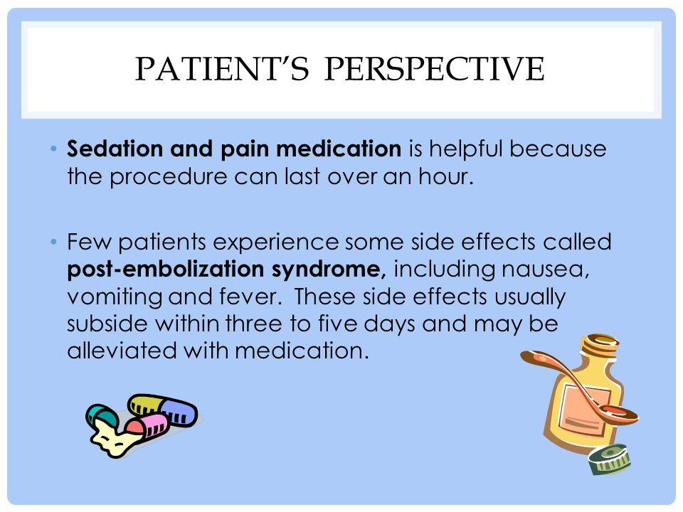 Patient's perspective