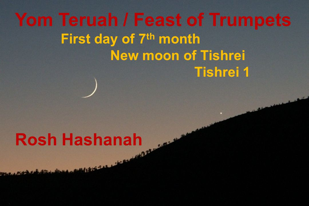 Yom Teruah / Feast of Trumpets