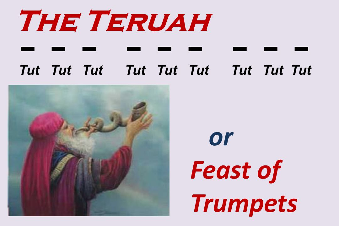 - - - - - - - - - The Teruah or Feast of Trumpets