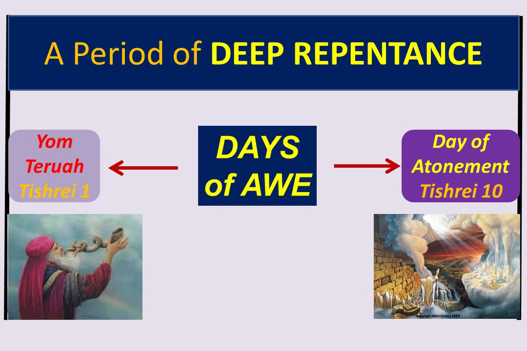 A Period of DEEP REPENTANCE