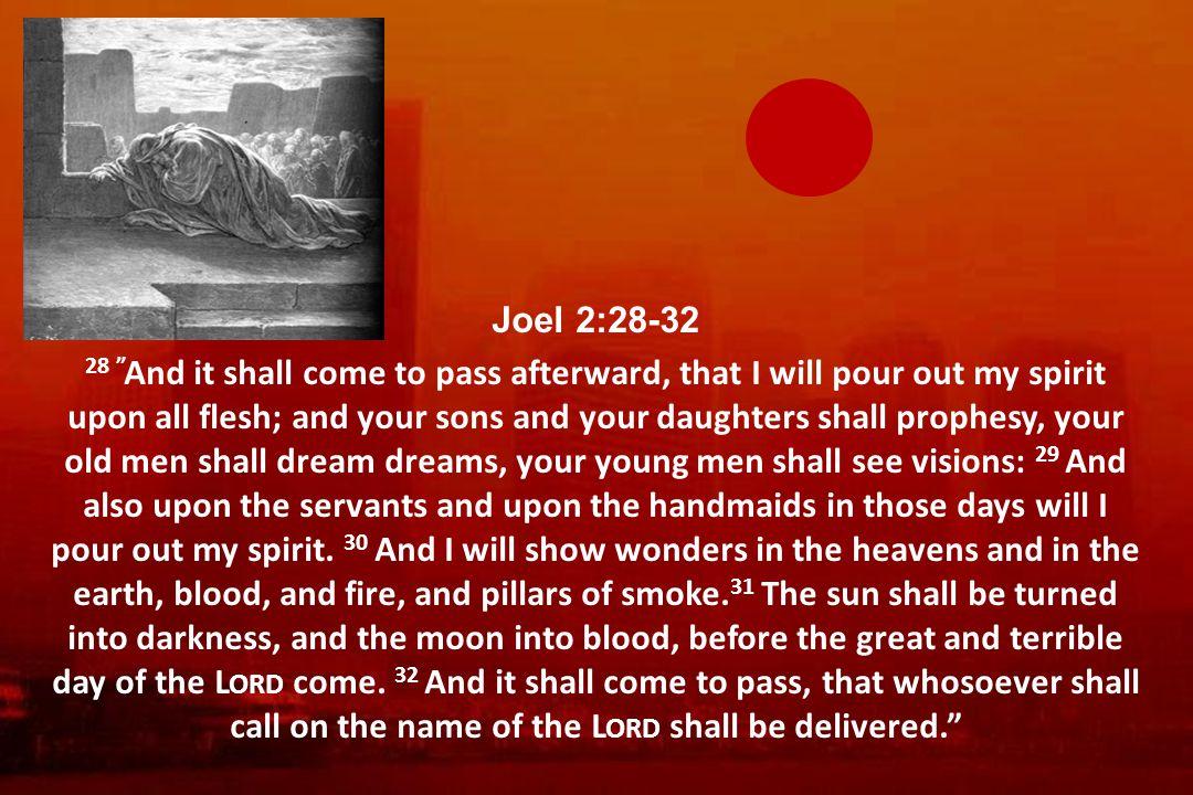 Joel 2:28-32