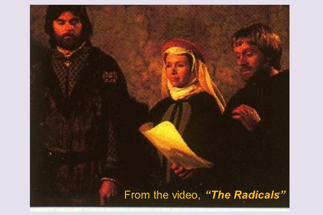 From the video, The Radicals