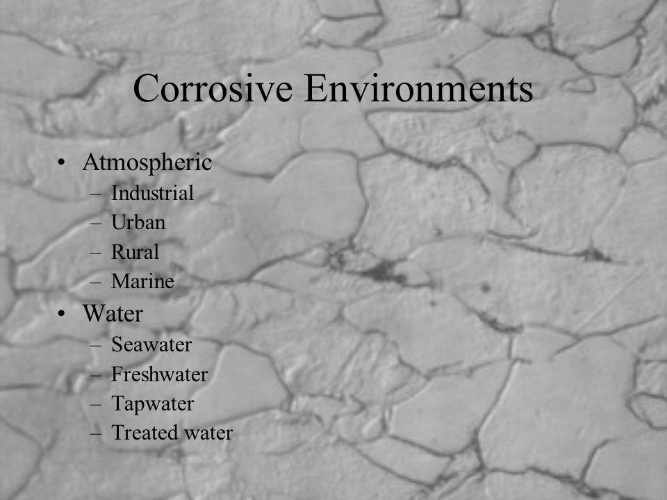 Corrosive Environments