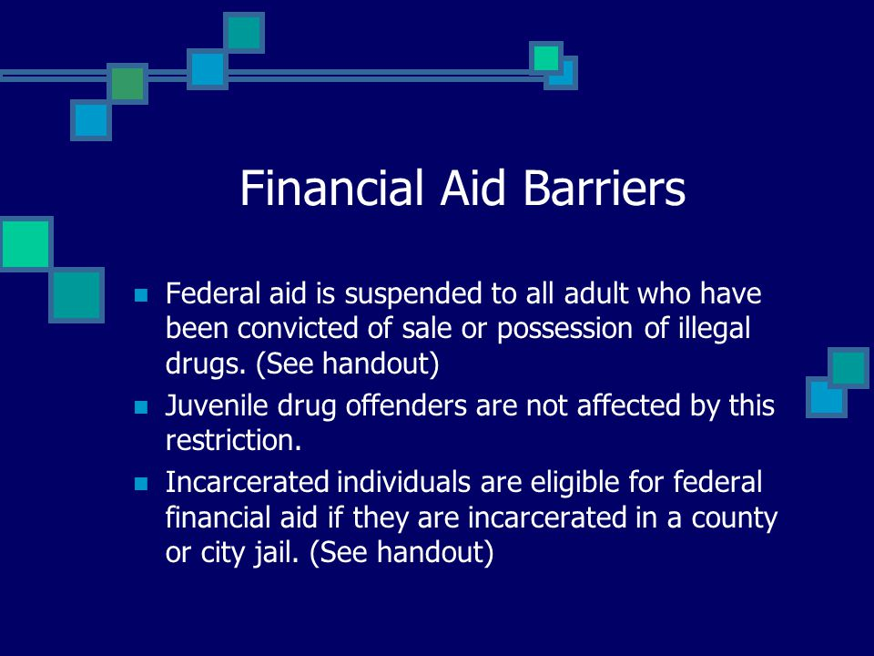 Financial Aid Barriers
