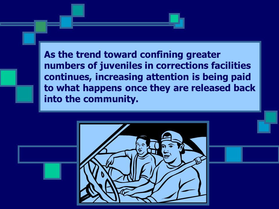 As the trend toward confining greater numbers of juveniles in corrections facilities continues, increasing attention is being paid to what happens once they are released back into the community.