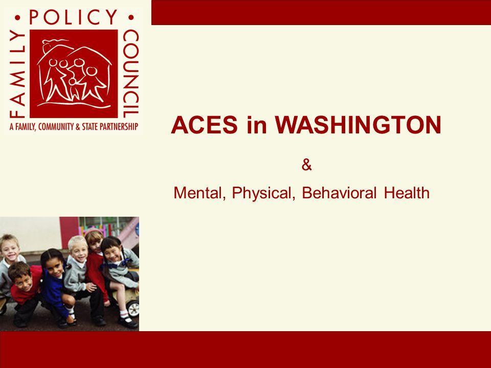Mental, Physical, Behavioral Health