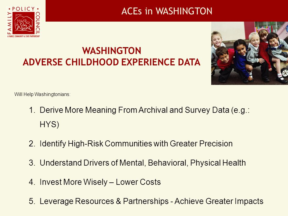 ADVERSE CHILDHOOD EXPERIENCE DATA