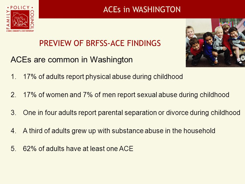 Preview of BRFSS-ACE Findings