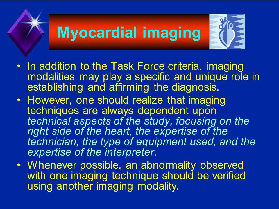 Myocardial imaging