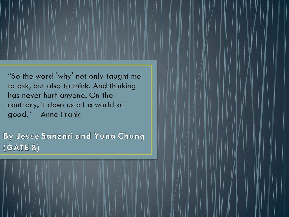 By Jesse Sanzari and Yuna Chung (GATE 8)