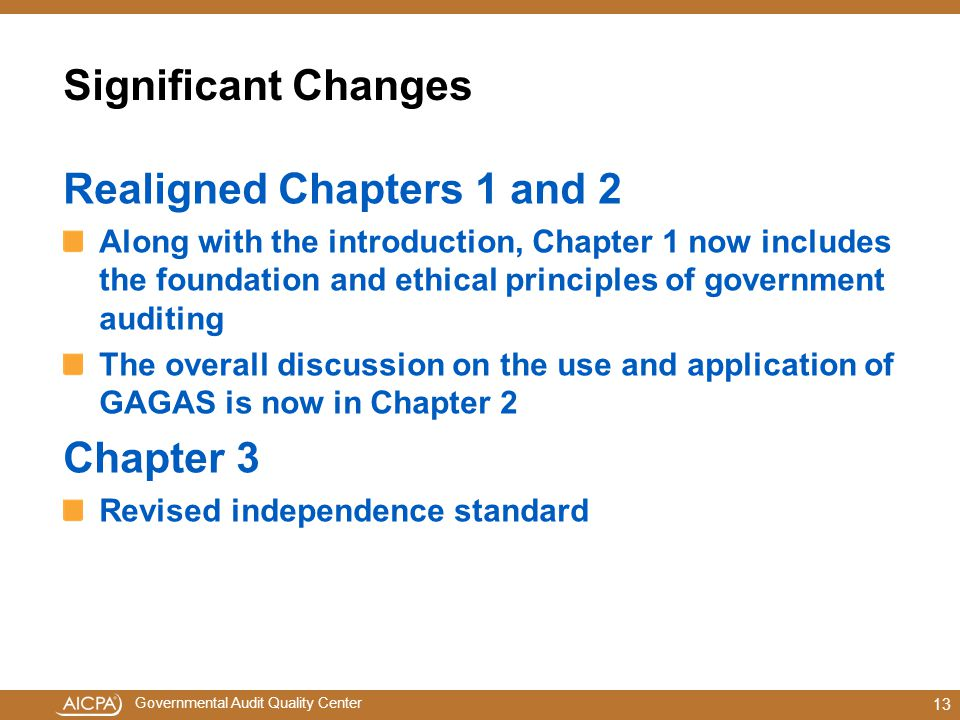 Realigned Chapters 1 and 2
