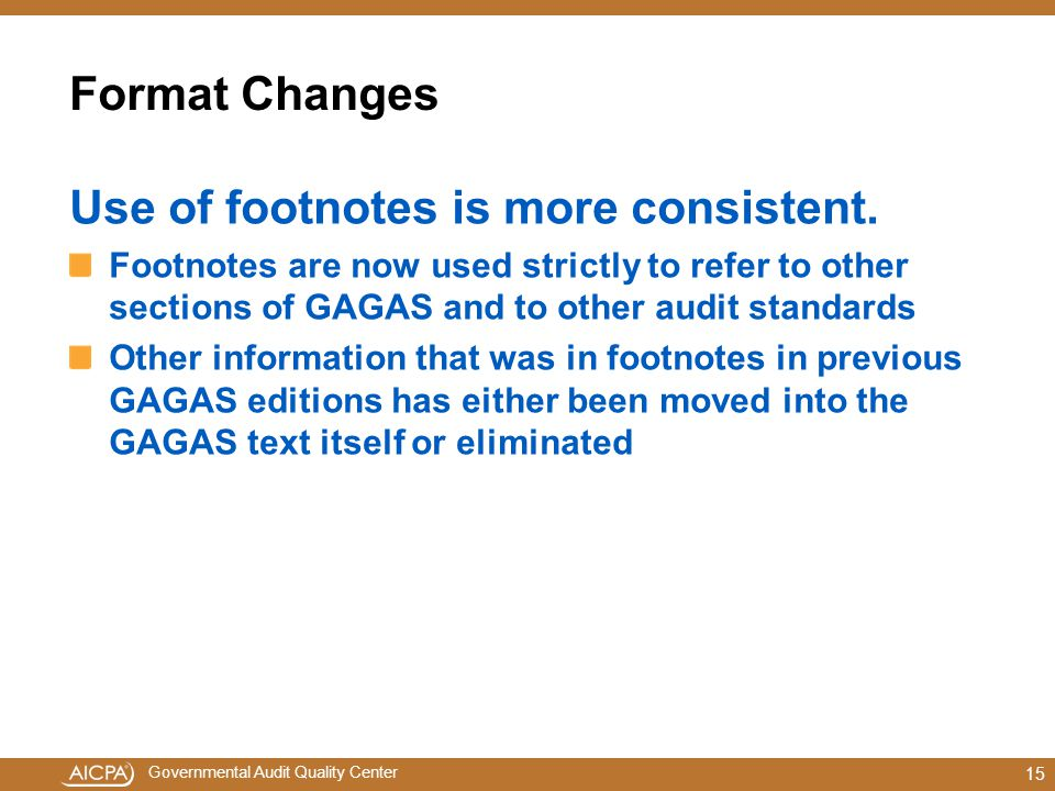 Use of footnotes is more consistent.