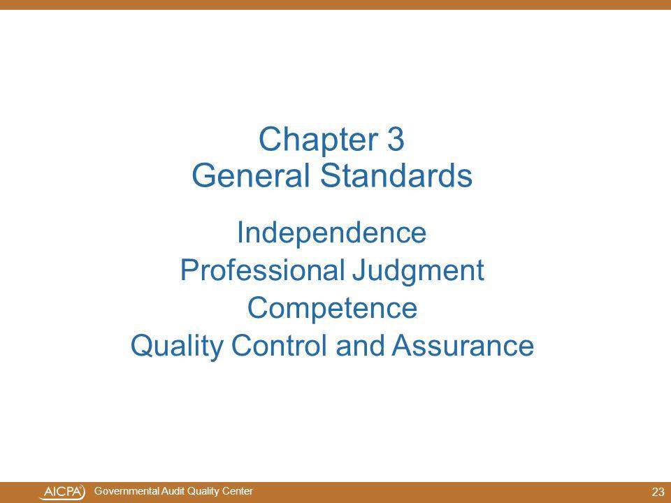 Chapter 3 General Standards