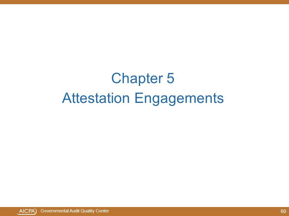 Attestation Engagements