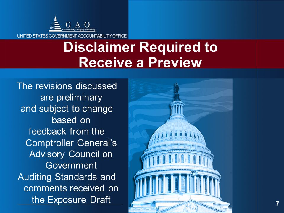 Disclaimer Required to Receive a Preview