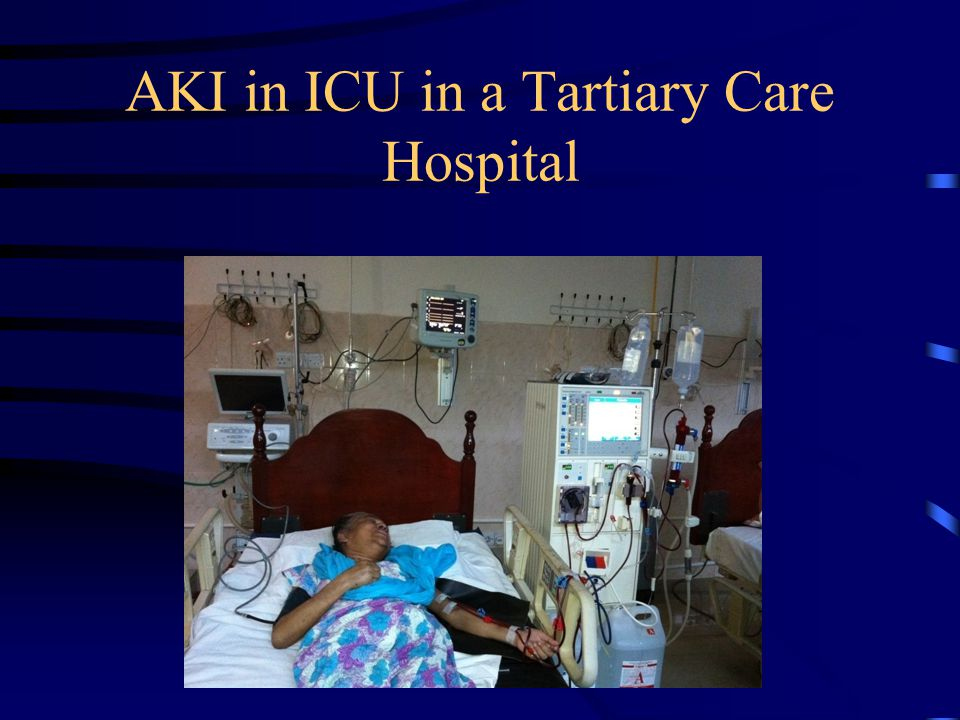 AKI in ICU in a Tartiary Care Hospital
