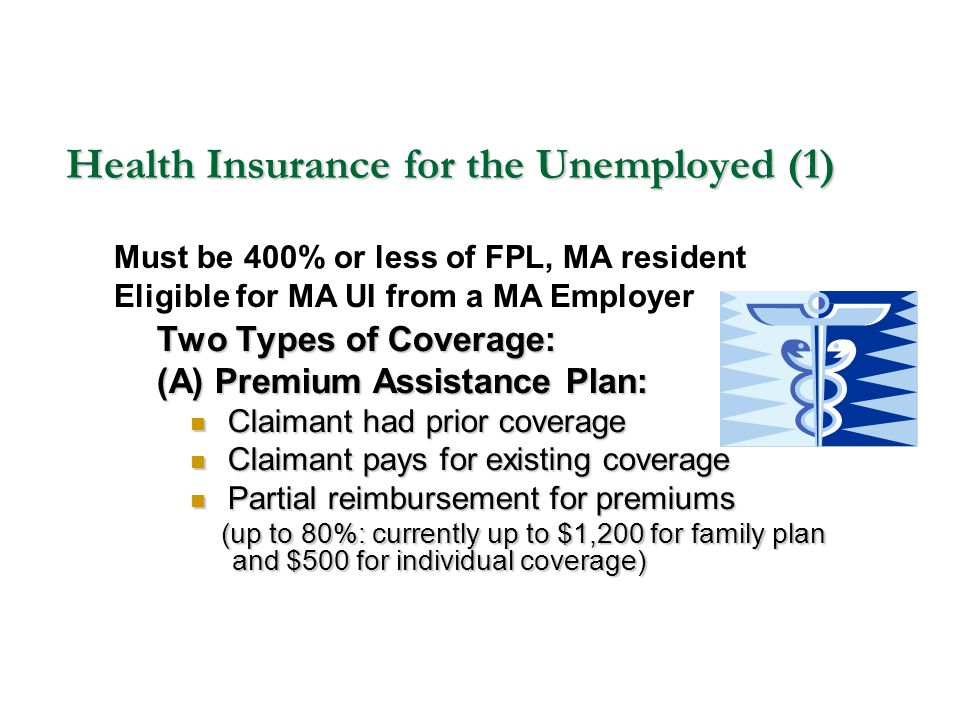 Health Insurance for the Unemployed (1)