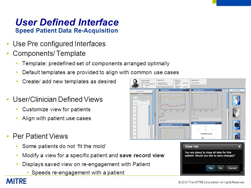 User Defined Interface