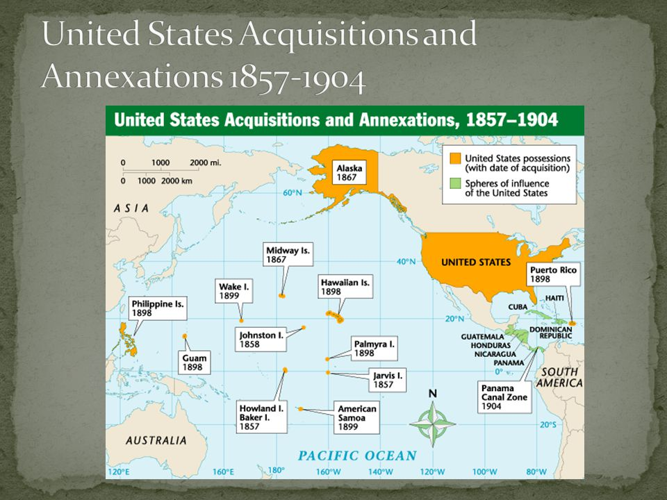 United States Acquisitions and Annexations